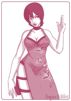 Ada Wong - Resident Evil by Kalumis