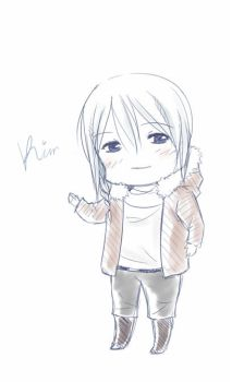 Chibi Kim sketch by AshitaMaya