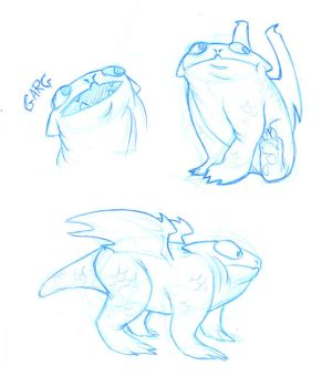 Garg Sketches by Radioactive-Insanity