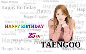 Happy Birthday Taengoo...Jjang!!! by raretak