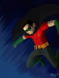 Batman Arkham City: Robin by rmsk8r05