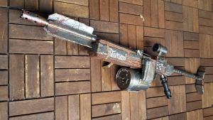 Fallout 4 Pipe Rifle by Clayman8
