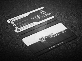 Modul 001: Wood Industries (Business Card) by LamiaDC