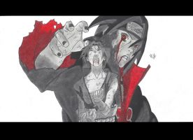 Uchiha brothers by MTEvans