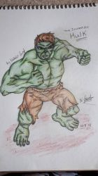(COMMISSION) The Incredible Hulk  by NatalieGuest