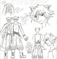 Haydin AccidTripp char.concept by MikoChika