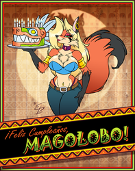 Magolobo Bday 2017 by eltonpot
