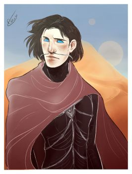 Paul Atreides by Egobarri