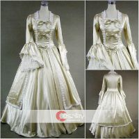 Trumpet Long Sleeves Classic Gothic Lolita Dress by wendywei2012