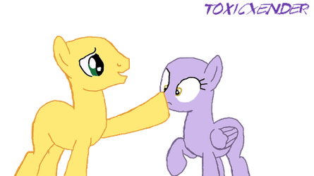 Suprise boop! [MLP Base] by ToxicXender