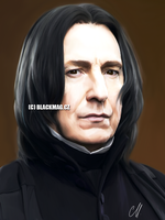 severus snape sketch by perlaque