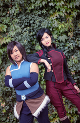 Team Korrasami [Legend of Korra] by ChikaraSan