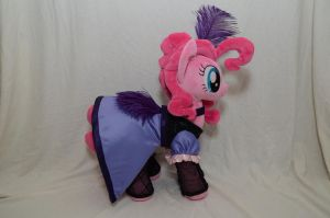 Western Pinkie Pie Plush by makeshiftwings30