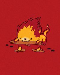 Burn is worse than his bite by randyotter