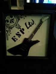 Framed Guitar by JonNickDeviantArt