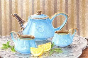 Teapot by Kot-Filemon