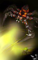 BIONICLE: Lord of Skull Spiders by gk733