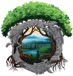 Isles of Eventide logo by Chickenbusiness