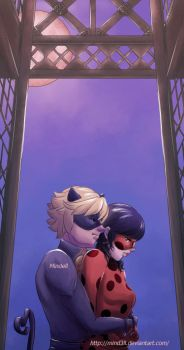 Miraculous - Ladybug and Chat Noir by Mind3ll
