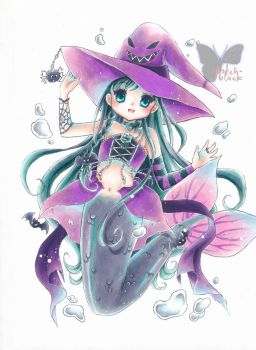 Witch Mermaid by OoOoPitchBlackOoOo
