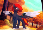 Flame Runner (Animated) by Rodrigues404