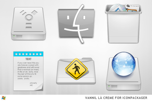 Vannila Creme For IconPackager by ipholio
