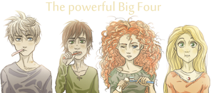 The Powerful Big Four by ASAMESHII