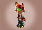 Nick McCloud - A Zootopia and StarFox crossover by ResidentEvilffs