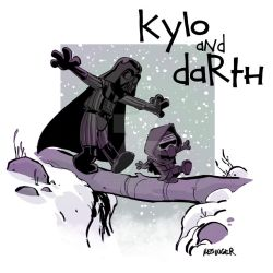 Kylo and Darth by BrianKesinger