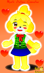 :ISABELLE ANIMAL CROSSING 2018: by HOBYGRENOUSSE