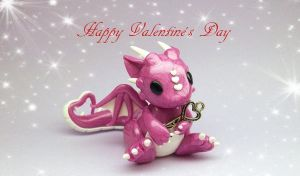 Valentine's Day Dragon by whitemilkcarton