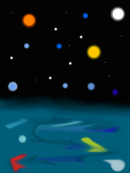 Stary Night by Elemental-Fang
