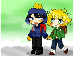Lets hold hands Tweek by TweekPark