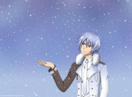 Snow Kaito by crazy4anime09