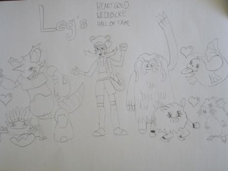 Leg's HeartGold Wedlocke: Hall Of Fame by TheDrewdler