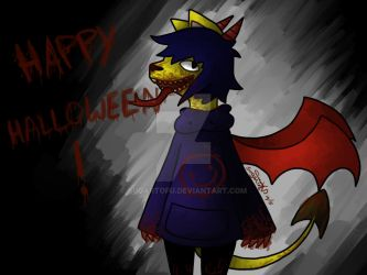 049 Happy Halloween by SugarTofu