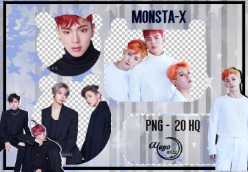 MONSTA X PNG #28 { ARE YOU THERE } by YUYO8812
