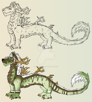 Adoptable dragonish thing (TAKEN) by Karvaferrari