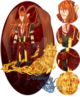 [CLOSED] Avatars of Shihar'ra - Secorum Fire Wolf by FKDemetri