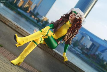 Rogue X-Men by Ryoko-demon