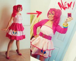 Pinkie Pie Cosplay Complete by Spwinkles