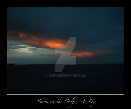 Storm on the Gulf 02 by AiFey