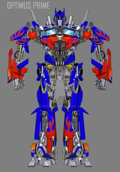 DOTM OPTIMUS PRIME by hybridmode