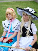 Marisa and Alice by amai-amai-kanashimi