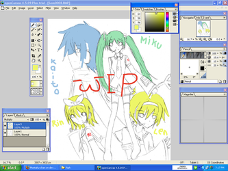 WIP .:Vocaloid:. by Moetaku-chan