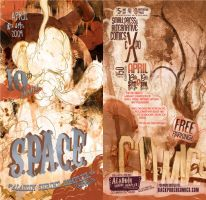 S.P.A.C.E. 2009 flyer by drawrobot