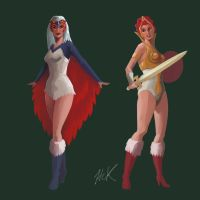 Mother and Daughter of Grayskull by artist2point5