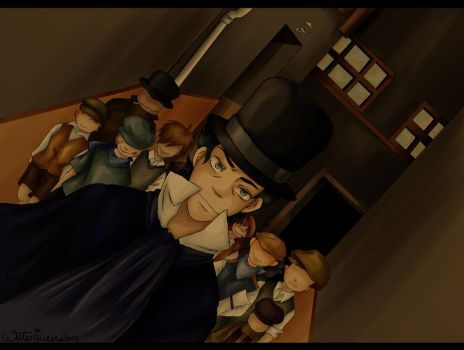 Holmes and the Bakerstreetgang by Waterqueen-san