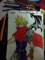 Cloud Strife (kingdom hearts 1) by BlazePISS