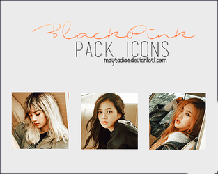 BlackPink - Icons 3 by mayradias